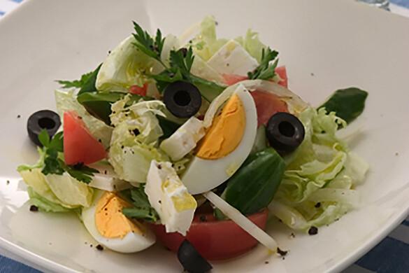 ギリシャ風 田舎サラダ