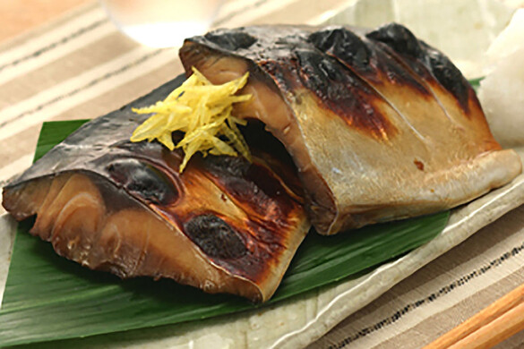 鯖の柚子香焼き