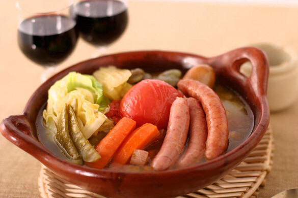 春野菜のソーセージシチュー
