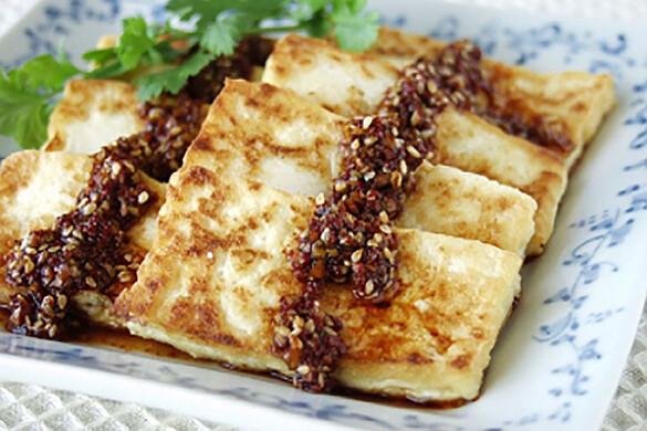 豆腐の韓国焼き