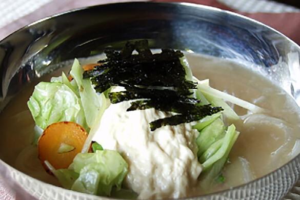 豆乳・生湯葉のカルグクス