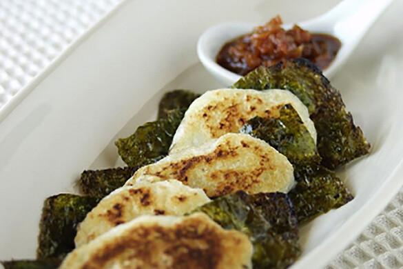 山芋の韓国のり焼き