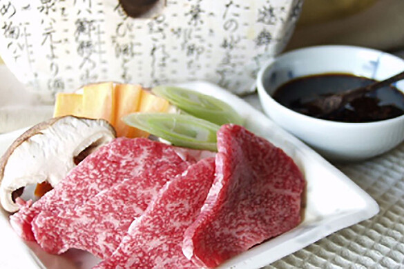 篠山牛の花山椒焼き