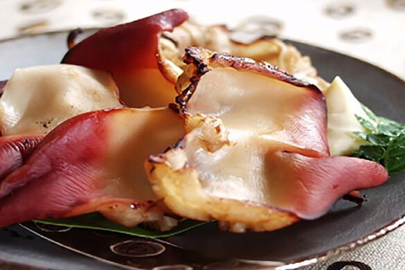 ホッキ貝の炙り焼き