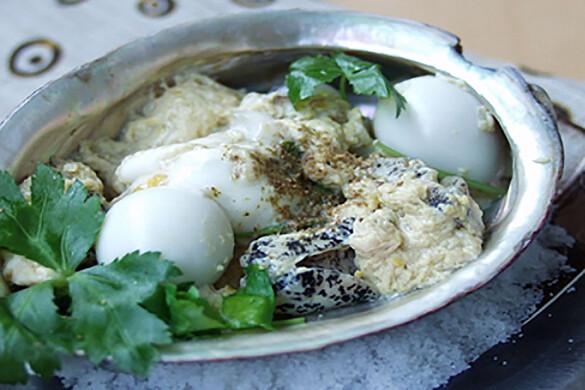 ツブ貝の宿借り煮