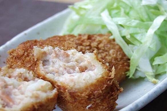 鮭のクリーミーコロッケ