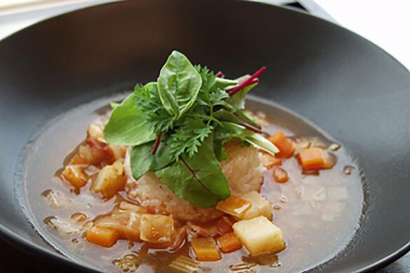 野菜たっぷり洋風雑炊