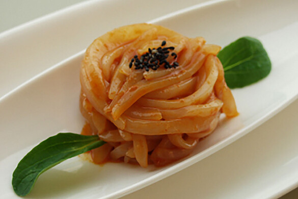 イカの韓国風ピリ塩辛