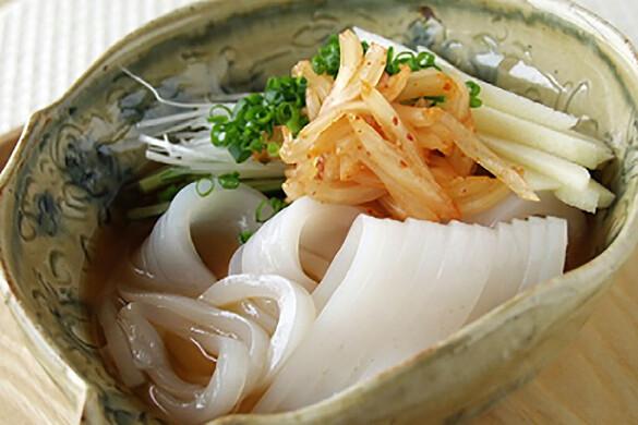 ピリ辛イカソーメン 冷麺風
