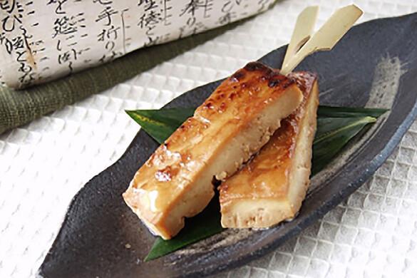 豆腐の味噌漬焼き