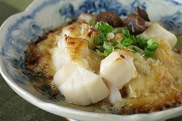 ホタテの味噌マヨ焼き