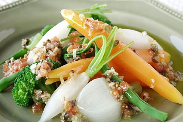 冬野菜のあったかサラダ