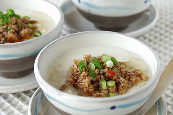 とろとろ豆腐の肉味噌アン