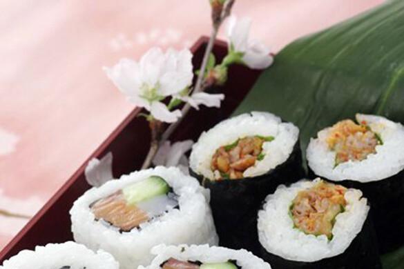豚キムチロール寿司