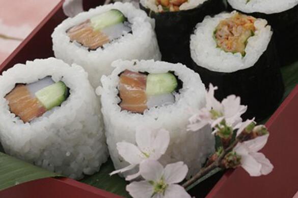 トロサーモンのロール寿司