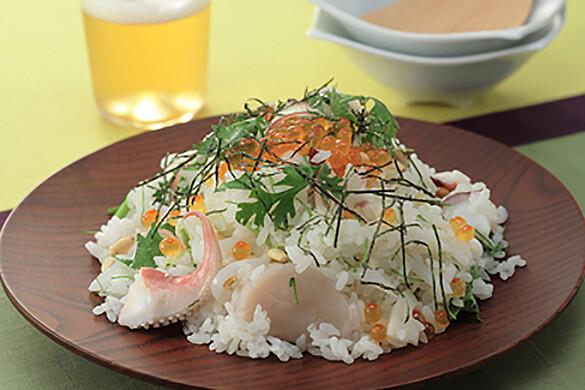 エスニック海鮮ちらし寿司