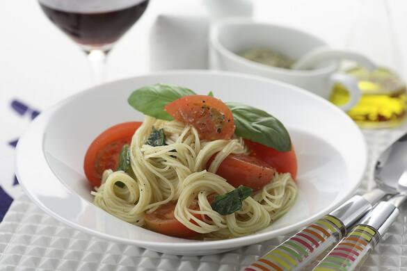 濃厚トマトの冷製パスタ