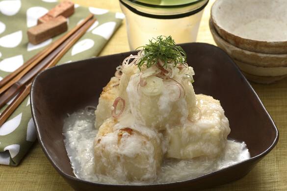 山かけ揚げ出し豆腐