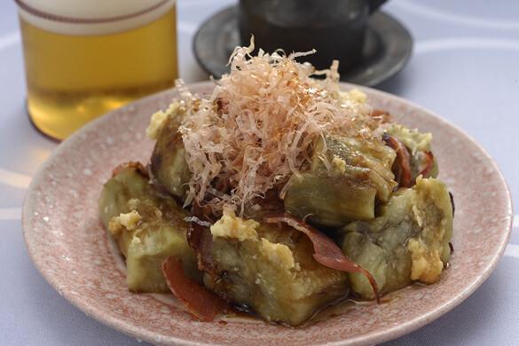 カリカリベーコン焼きナス