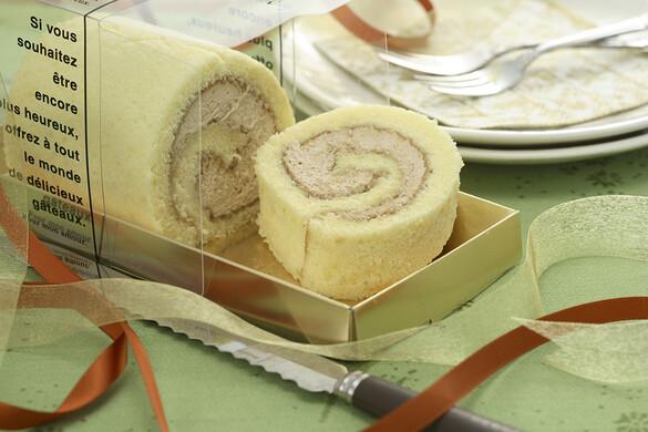 エスプレッソのロールケーキ