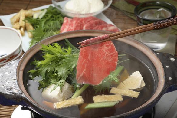 牛肉のハリハリ鍋