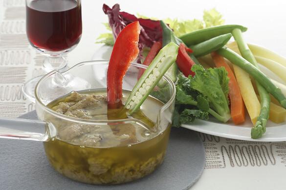 バーニャカウダ&彩りお野菜
