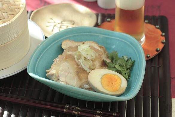 鶏のしょうゆ煮と味卵