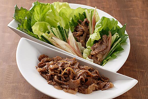 黒牛のしぐれ煮包みサラダ
