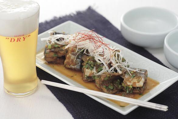 秋刀魚の韓国煮