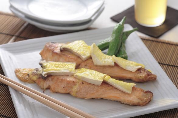 鮭の黄金焼き