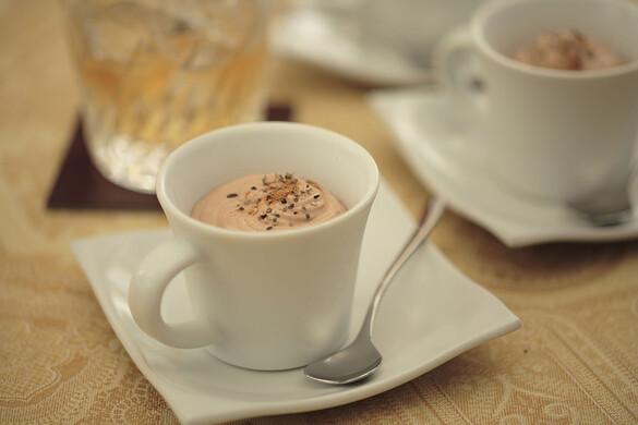 ブランデー入りチョコレートクリーム