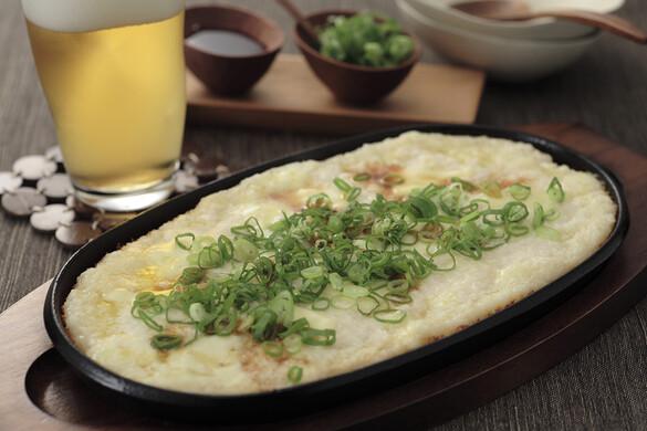 トロトロの長芋のアツアツ鉄板焼き〜簡単3stepおつまみ〜