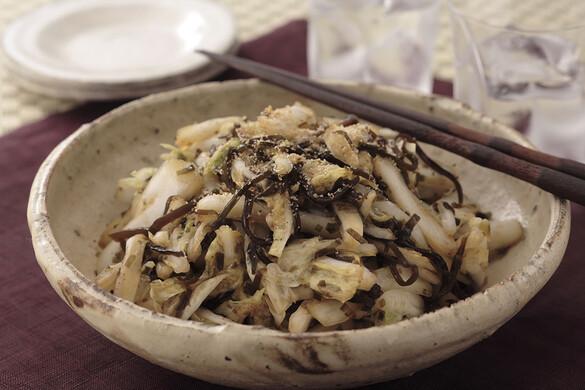 白菜の超簡単即席漬け