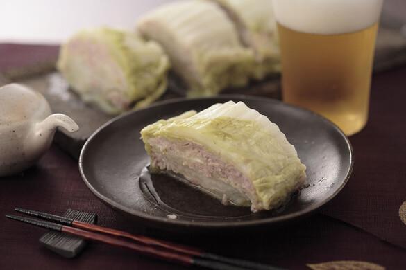 白菜とネギ塩豚の重ね蒸し