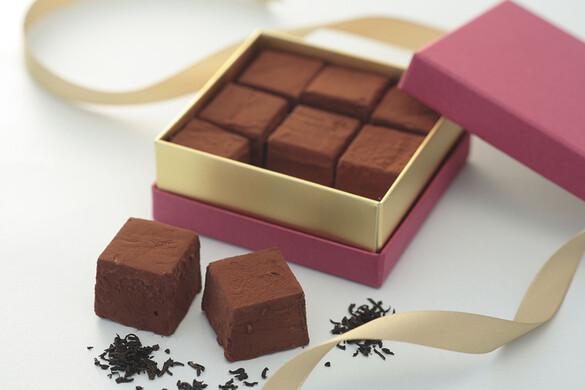紅茶の生チョコレート