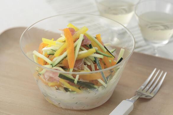 カラフル野菜のハニーサラダ