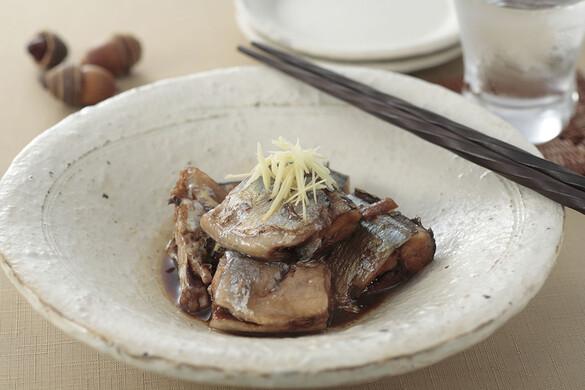 秋刀魚のショウガ煮