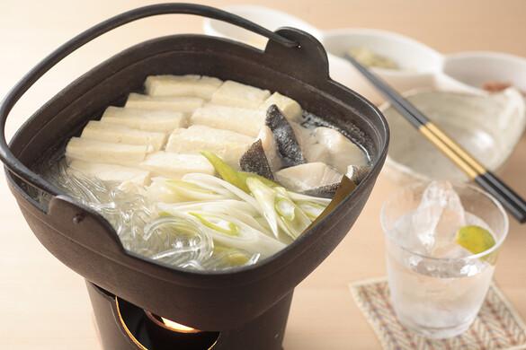 シンプル湯豆腐鍋