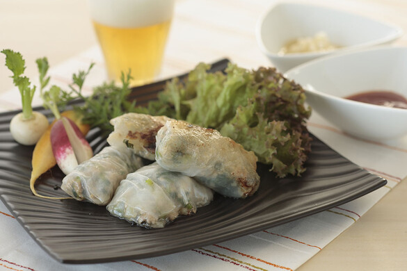 小松菜のアジアンおやき