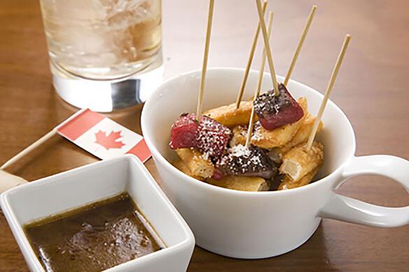 プーティーン風味 牛肉&ポテトピンチョス