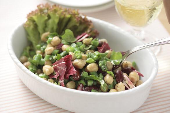 いんげんのマメ豆サラダ