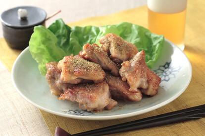 鶏ももの山椒焼き