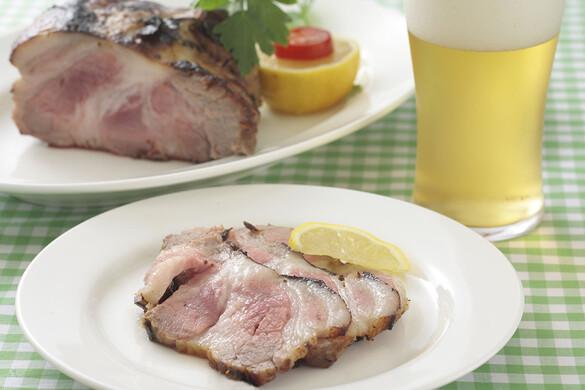 豚肩ロース肉の塩麹マリネロースト