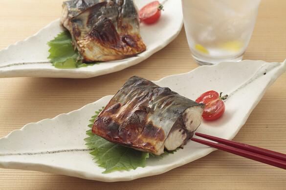 鯖の柚あん焼き