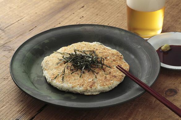 大和芋のお好み焼き