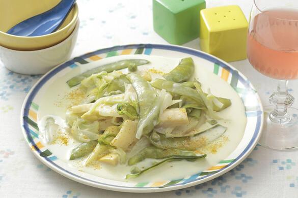 春野菜のクリーム煮