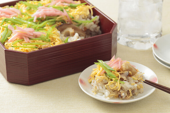 鯖の水煮缶で丹後ばら寿司風