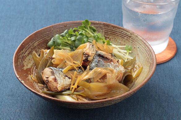 秋刀魚の焼きびたし