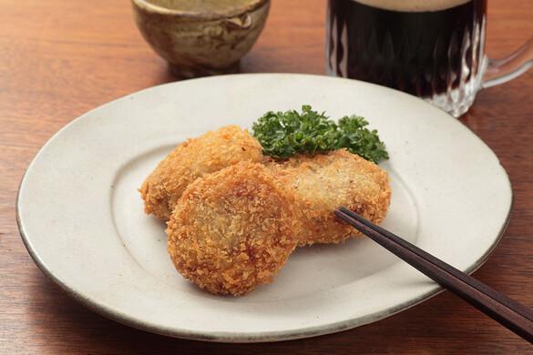 里芋と栗のコロッケ