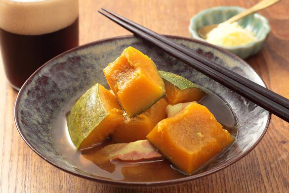 かぼちゃのカレー味噌煮